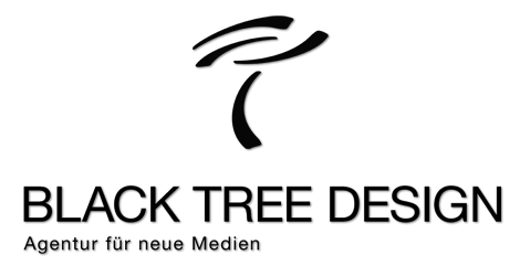 Black Tree Design Logo